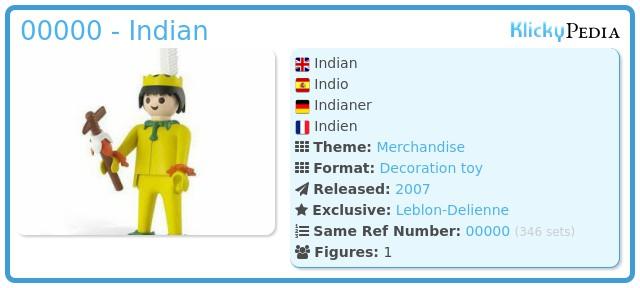 Playmobil 00000 - Indian