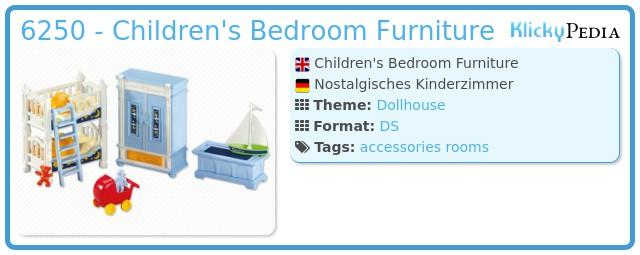 Playmobil 6250 - Children's Bedroom Furniture