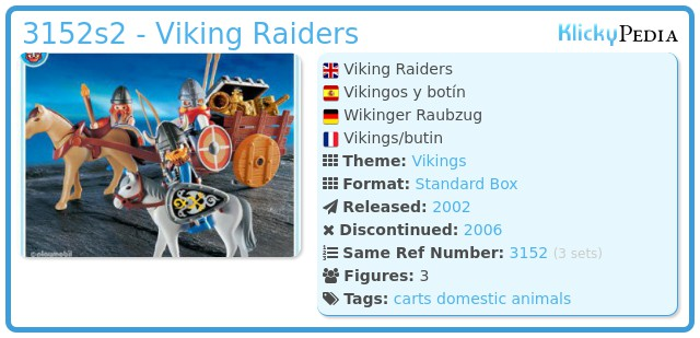 Playmobil 3152s2 - Viking Raiders