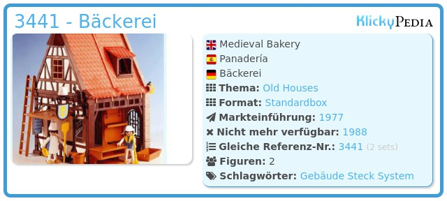 Playmobil 3441 - Bäckerei