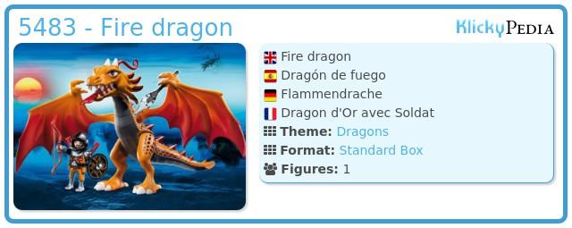 Playmobil 5483 - Fire dragon