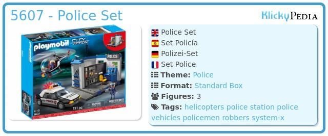 Playmobil 5607 - Police Set