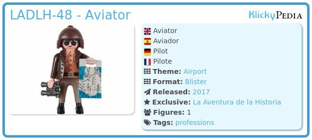 Playmobil LADLH-48 - Aviator