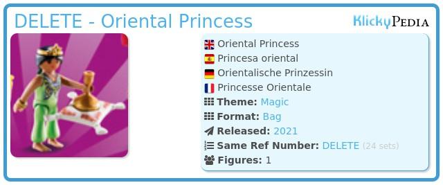 Playmobil 70149-02 - Oriental Princess