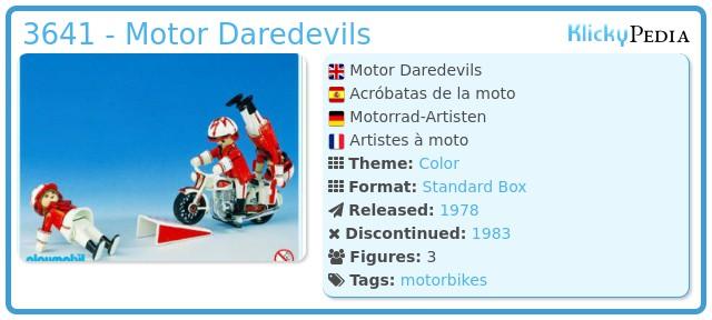 Playmobil 3641 - Motor Daredevils