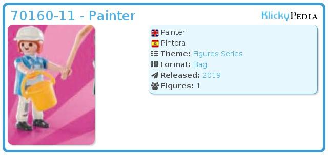 Playmobil 70160-11 - Painter