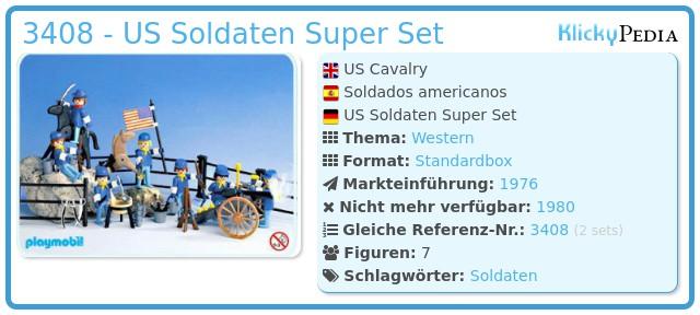 Playmobil 3408 - US Soldaten Super Set