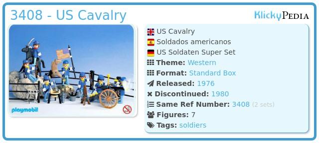 Playmobil 3408 - US Cavalry