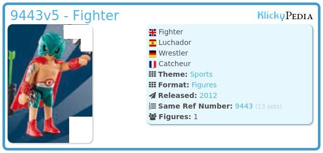 Playmobil 9443v5 - Fighter