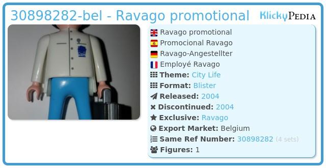 Playmobil 30898282-bel - Ravago promotional