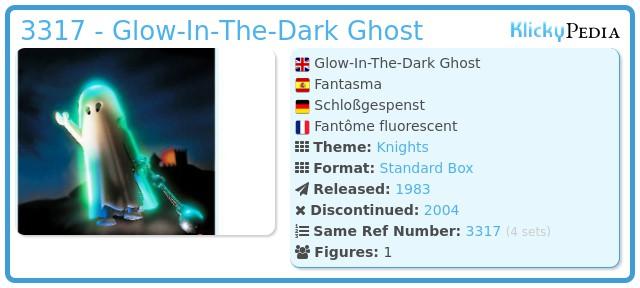 Playmobil 3317 - Glow-In-The-Dark Ghost
