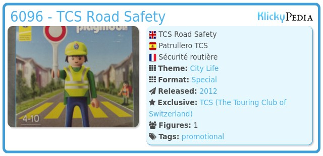 Playmobil 6096 - TCS