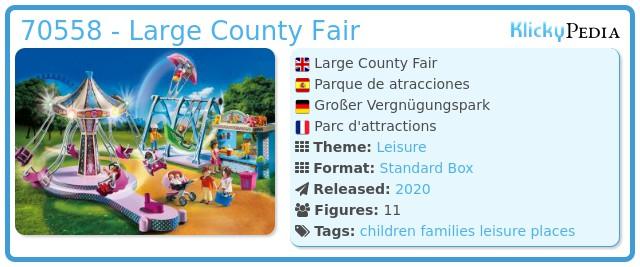 Playmobil 70558 - Amusement Park