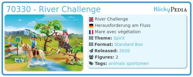 Playmobil 70330 - River Challenge