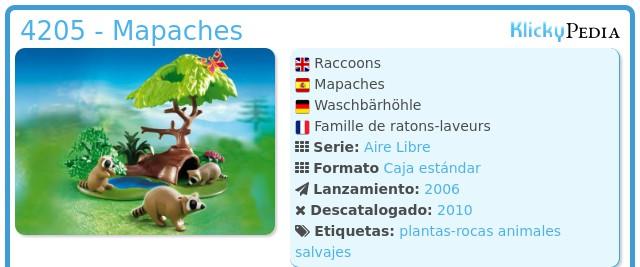 Playmobil 4205 - Mapaches