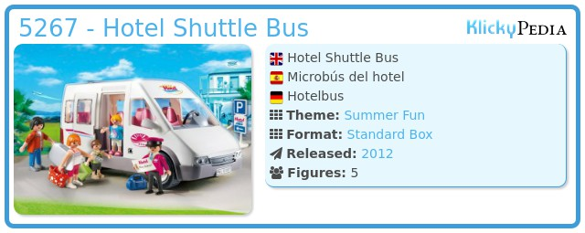 Playmobil 5267 - Hotel Shuttle Bus
