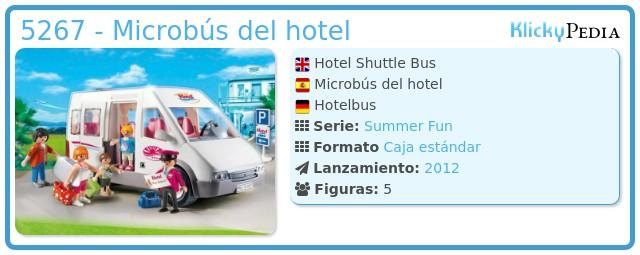 Playmobil 5267 - Microbús del hotel