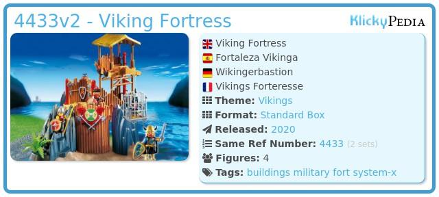Playmobil 4433v2 - Viking fortress