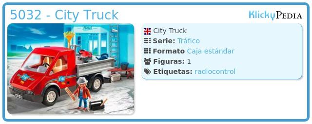 Playmobil 5032 - City Truck