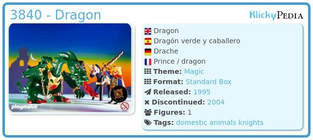Playmobil 3840 - Dragon