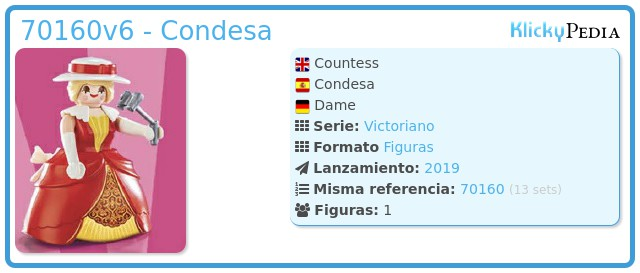 Playmobil 70160v6 - Condesa