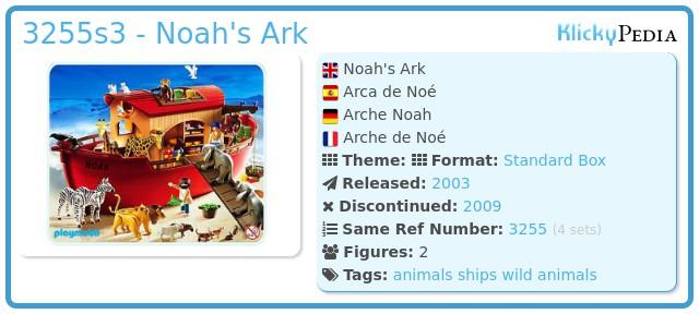 Playmobil 3255s3 - Noah`s Ark