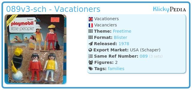Playmobil 089v3-sch - Vacationers