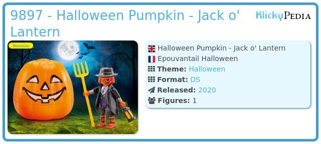 Playmobil 9897 - Halloween straw man