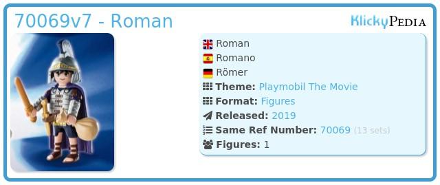 Playmobil 70069v7 - Roman