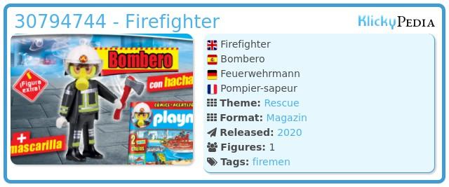 Playmobil 30794744 - Firefighter