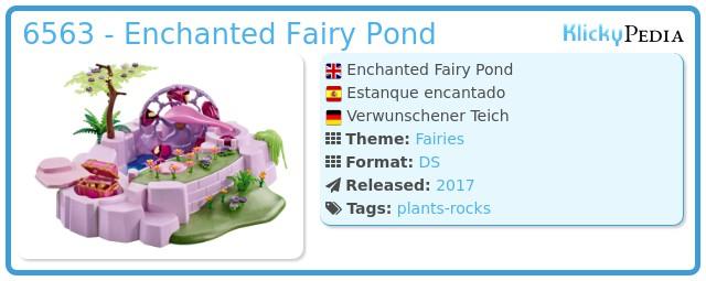 Playmobil 6563 - Enchanted Fairy Pond