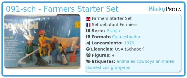 Playmobil 091-sch - Farmers Starter Set