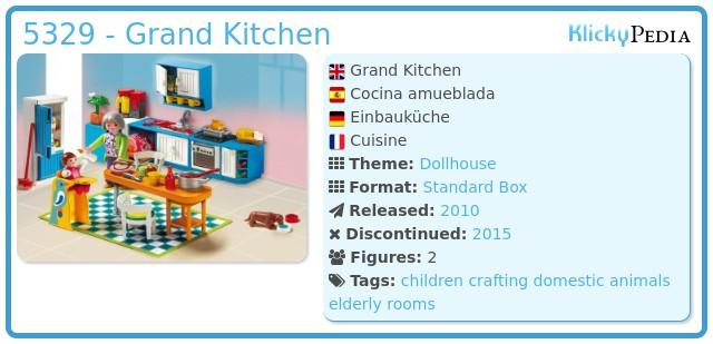 Playmobil 5329 - Grand Kitchen