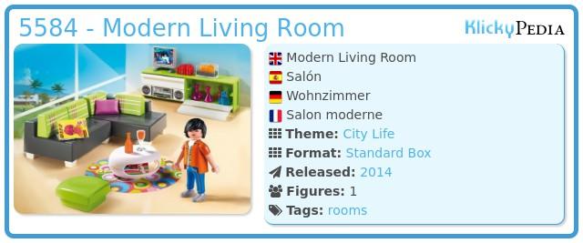 Playmobil 5584 - Modern Living Room