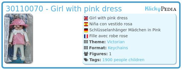 Playmobil 30110070 - Girl with pink dress