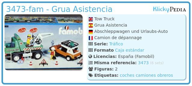 Playmobil 3473-fam - Grua Asistencia