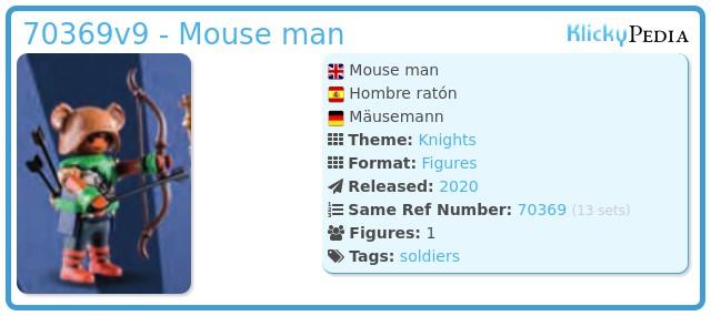 Playmobil 70369v9 - Mouse man