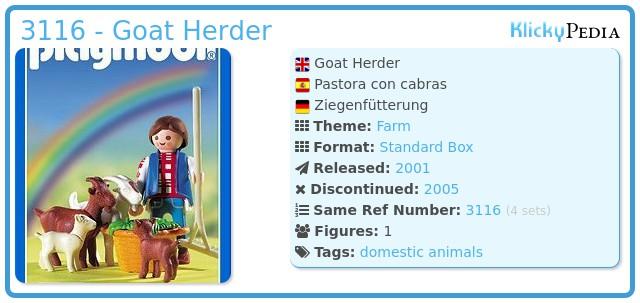 Playmobil 3116 - Goat Herder
