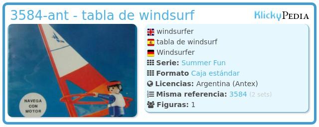 Playmobil 3584-ant - tabla de windsurf