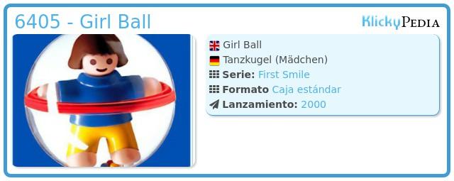 Playmobil 6405 - Girl Ball