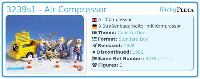 Playmobil 3239s1 - Workers / generator