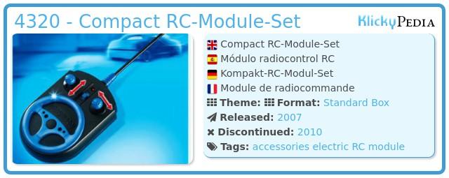 Playmobil 4320 - Compact RC-Module-Set