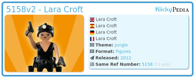 Playmobil 5158v2 - Lara Croft