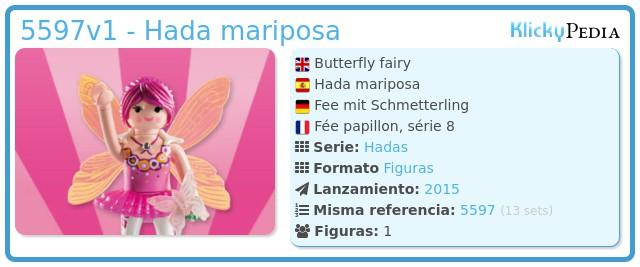 Playmobil 5597v1 - Hada mariposa