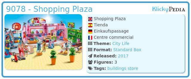 Playmobil 9078 - Shopping Plaza