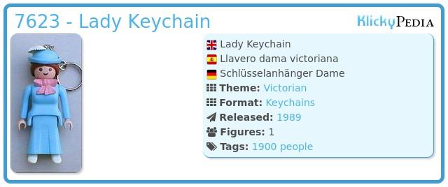 Playmobil 7623 - Lady Keychain
