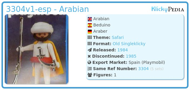 Playmobil 3304v1-esp - Arabian