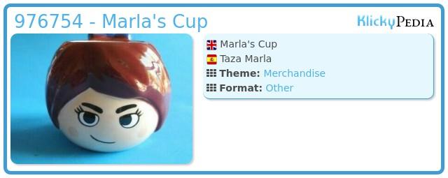 Playmobil 976754 - Marla's Cup