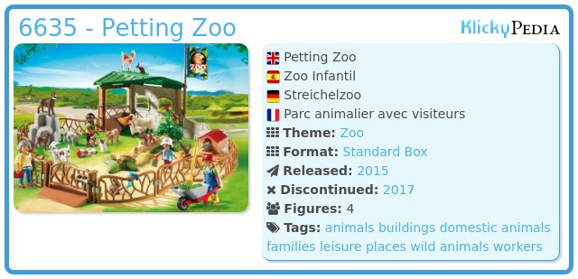Playmobil 6635 - Petting Zoo