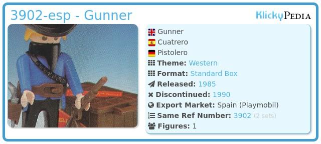 Playmobil 3902-esp - Gunner